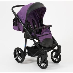 Коляска прогулочная Mr Sandman Traveler Premium фиолетовый - черный коляска mr sandman vortex прогулочная фиолетовый