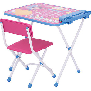 Набор мебели Nika Disney 1 Стол-Стул Белоснежка