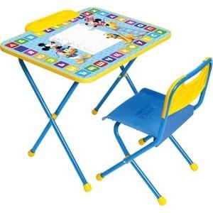 Набор мебели Nika Disney 1 Стол-Стул Микки Маус корзина для игрушек disney микки маус и его друзья 2732136