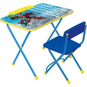 Набор мебели Nika Disney 2 Стол-Стул Мстители набор мебели nika disney 2 золушка