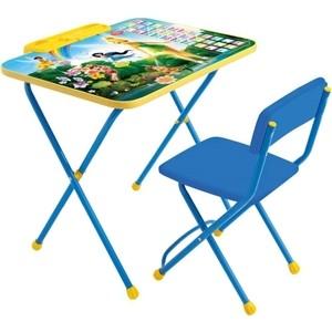 Набор мебели Nika Disney 2 Стол-Стул Феи. Азбука цена