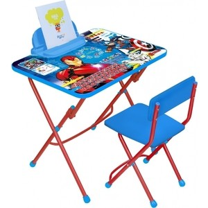 Набор мебели Nika Disney 3 Стол-Стул Мстители стул nika к3 turquoise