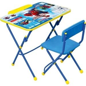 Набор мебели Nika Disney 3 Стол-Стул Человек-паук