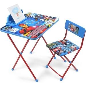 Набор мебели Nika Disney 4 Стол-Стул Мстители