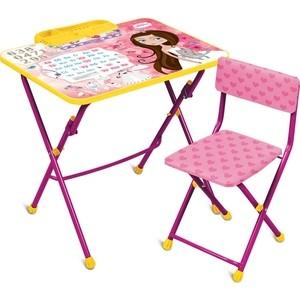 Набор мебели Nika Умничка 2 Стол-Стул Маленькая принцесса