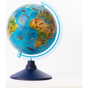 Глобус Globen Зоогеографический (Детский) (батарейки) 210 (Ве012100249)