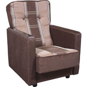 Кресло Шарм-Дизайн Классика Д шенилл коричневый