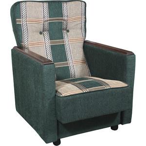 Кресло Шарм-Дизайн Классика Д шенилл зеленый