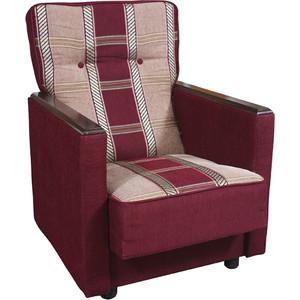 Кресло Шарм-Дизайн Классика Д шенилл бордовый