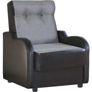 Кресло Шарм-Дизайн Классика В рогожка коричневый