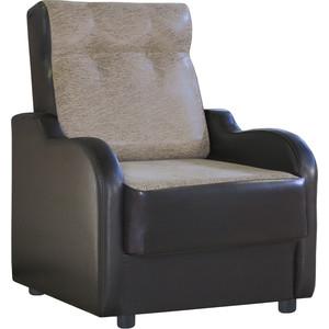 Кресло Шарм-Дизайн Классика В замша коричневый