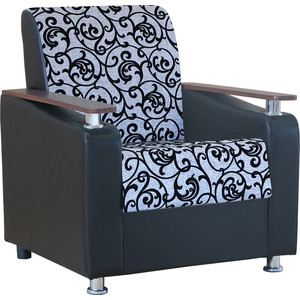 Кресло Шарм-Дизайн Мелодия ДП №1 шенилл серый узор дверца поддувальная балезино дп 1