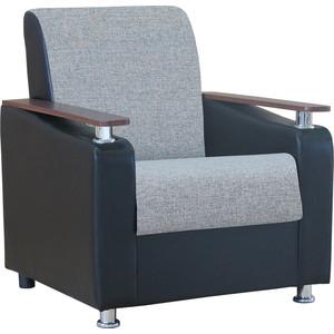 Кресло Шарм-Дизайн Мелодия ДП №1 шенилл серый