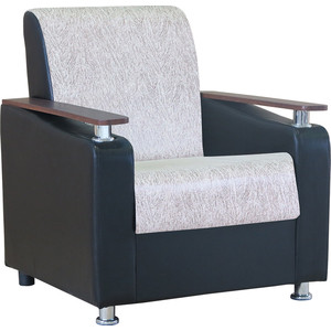 Кресло Шарм-Дизайн Мелодия ДП №1 замша бежевый