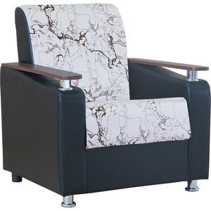 Кресло Шарм-Дизайн Мелодия ДП №1 замша белый