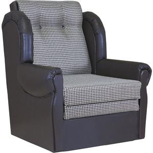 Кресло кровать Шарм-Дизайн Классика М рогожка коричневый кресло кровать шарм дизайн коломбо рогожка коричневый