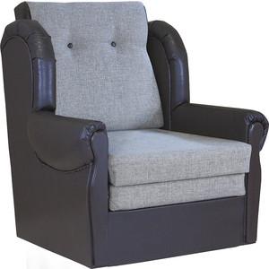 Кресло кровать Шарм-Дизайн Классика М шенилл серый