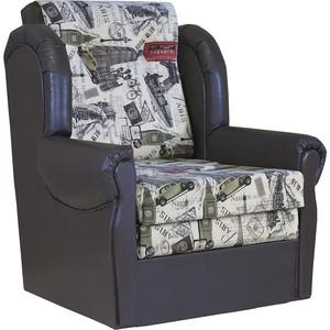 Кресло кровать Шарм-Дизайн Классика М велюр париж