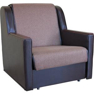 Кресло кровать Шарм-Дизайн Аккорд Д рогожка коричневый фото