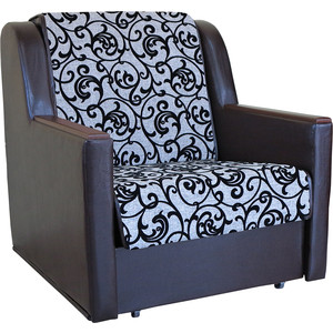 Кресло кровать Шарм-Дизайн Аккорд Д шенилл серый