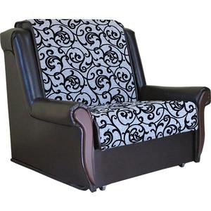 Кресло кровать Шарм-Дизайн Аккорд М шенилл серый фото