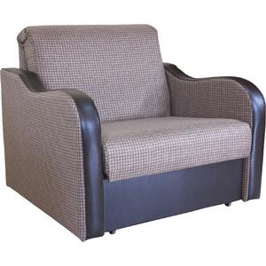 Кресло кровать Шарм-Дизайн Коломбо рогожка коричневый кресло кровать шарм дизайн коломбо рогожка коричневый