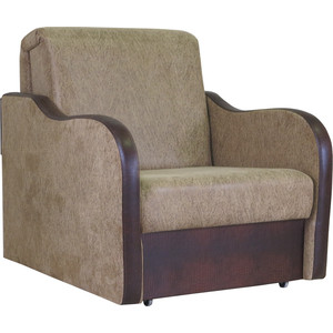 Кресло кровать Шарм-Дизайн Коломбо замша коричневый кресло кровать шарм дизайн коломбо рогожка коричневый