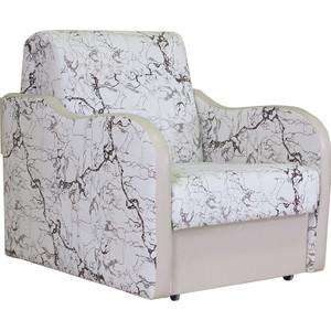 Кресло кровать Шарм-Дизайн Коломбо замша белый кресло кровать шарм дизайн коломбо рогожка коричневый