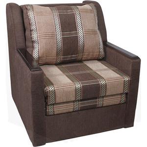 Кресло кровать Шарм-Дизайн Соло шенилл коричневый