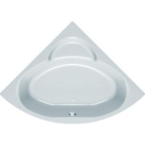 Акриловая ванна Kolpa-san Royal 140x140 см, полукруглая, на каркасе, слив-перелив акриловая ванна kolpa san string 190x90 см на каркасе слив перелив