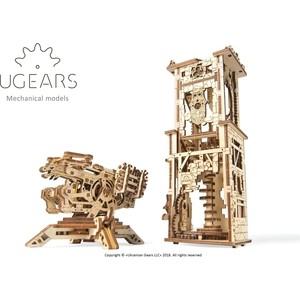 Конструктор деревянный Ugears Башня-аркбаллиста (70048)