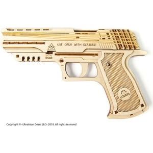Конструктор деревянный Ugears Пистолет Вольф-01 (70047)
