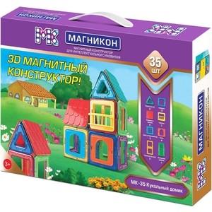 Конструктор магнитный Магникон Кукольный домик (МК-35) цена