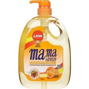 Концентрированное средство для мытья посуды Mama Lemon Цитрус (Tough on Grease), 1 л