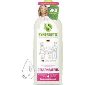 Кислородный отбеливатель Synergetic для белья, флакон-дозатор, 1 л