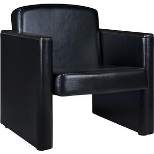 Кресло Шарм-Дизайн Болеро экокожа черный.