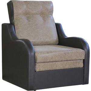 Кресло кровать Шарм-Дизайн Классика В замша коричневый.