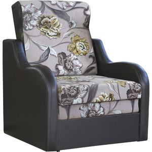 Кресло кровать Шарм-Дизайн Классика В велюр цветы.