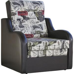 Кресло кровать Шарм-Дизайн Классика В велюр париж.
