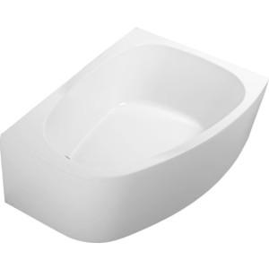 Акриловая ванна с гидромассажем Kolpa-san Chad Standart L 170x120 см, левая, на каркасе, слив-перелив цена