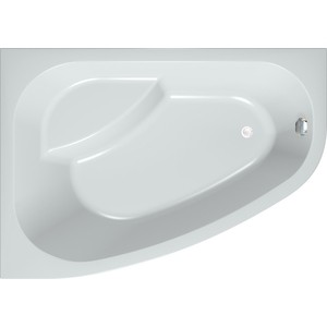 Акриловая ванна с гидромассажем Kolpa-san Chad/S Superior R 170x120 см, правая, на каркасе, слив-перелив