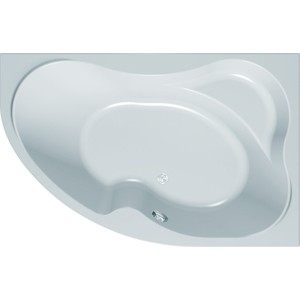 Акриловая ванна с гидромассажем Kolpa-san Lulu Standart L 170x100 см, левая, на каркасе, слив-перелив акриловая ванна roca merida 170x100 асимметричная левая белая zru9302992