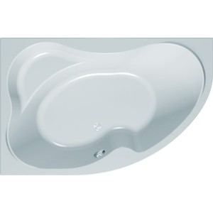 Акриловая ванна с гидромассажем Kolpa-san Lulu Special R 170x100 см, правая, на каркасе, слив-перелив акриловая ванна cersanit joanna 160х95 см правая ультра белая wa joanna 160 r w