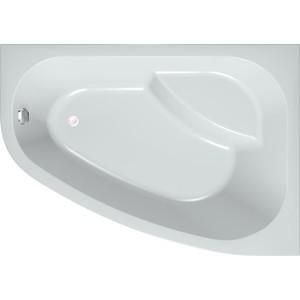 Акриловая ванна с гидромассажем Kolpa-san Chad/S Superior L 170x120 см, левая, фронтальная панель, на каркасе, слив-перелив