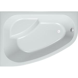 Акриловая ванна с гидромассажем Kolpa-san Chad/S Superior R 170x120 см, правая, фронтальная панель, на каркасе, слив-перелив