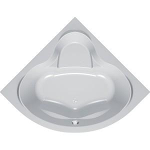 Акриловая ванна Kolpa-san Loco 150x150 см, полукруглая, фронтальная панель, на каркасе, слив-перелив цена