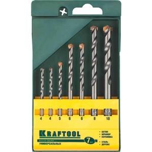 Набор сверл универсальных Kraftool 4-10мм 7шт Expert (29172-H7)