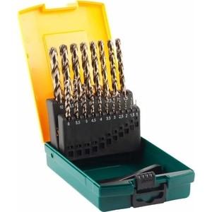 Набор сверл по металлу Kraftool 19шт d 1-10 мм (29655-H19) набор сверл sturm по металлу 1 0 10mm 19шт 1055 03 ss3