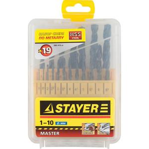 Набор сверл по металлу Stayer Master 19шт (2961-H19z01)