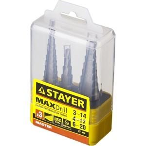 Набор сверл по металлу Stayer Master сталям и цветным металлам (29660-3-20-H3)